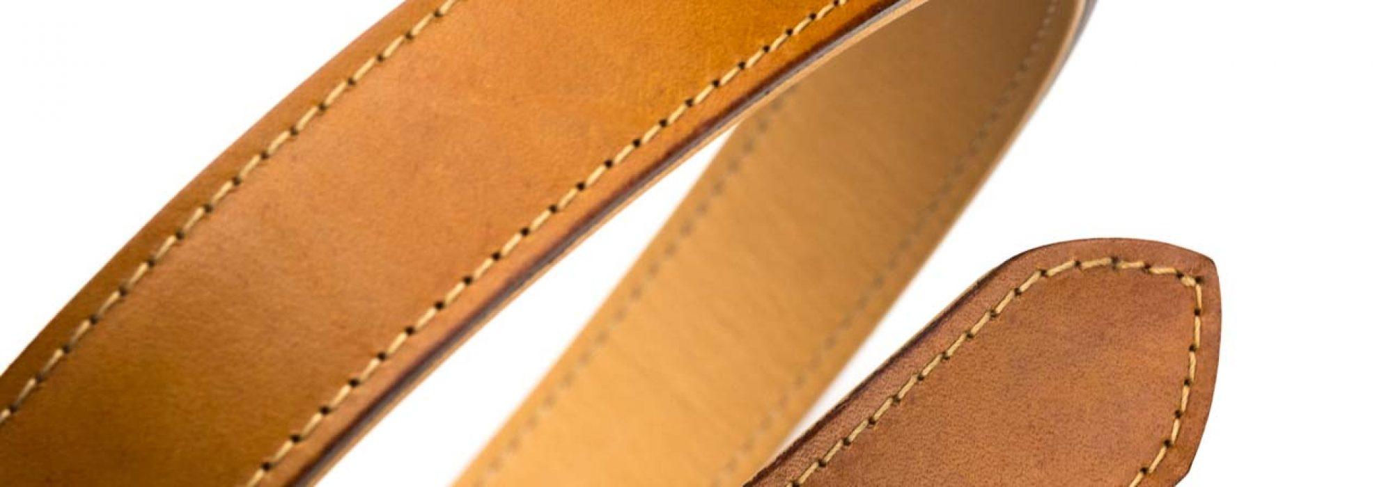 Ferrum and Hide Ltd. j and fj baker full grain london tan belt strap